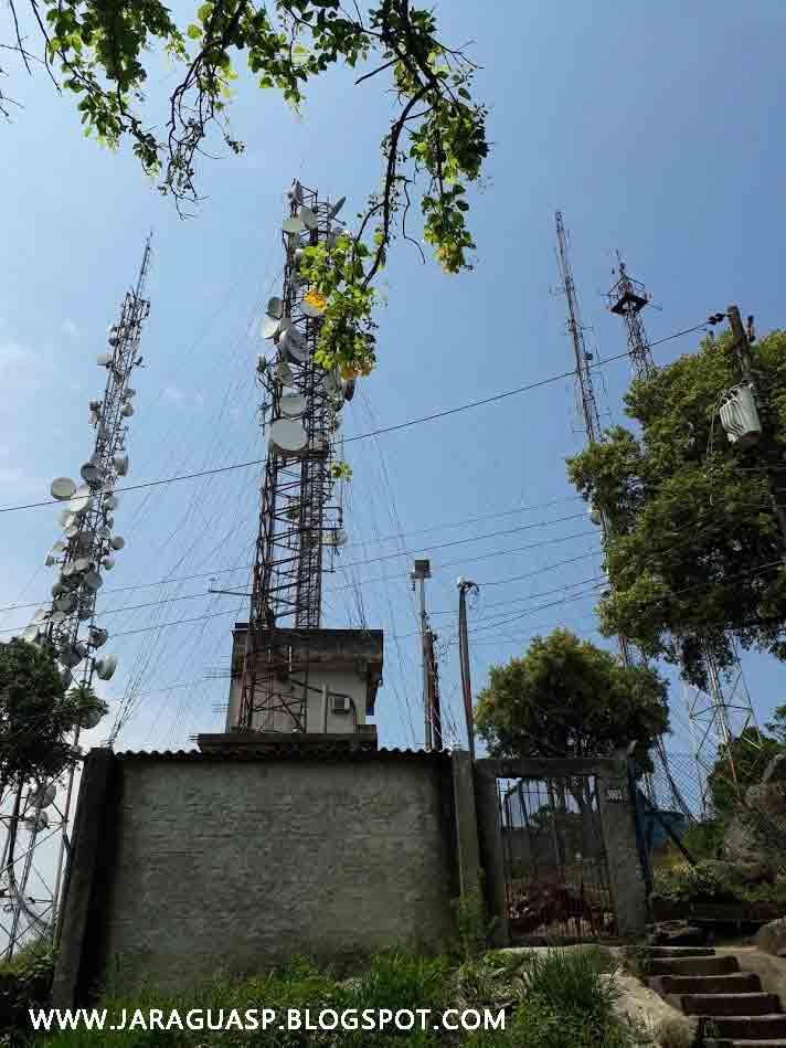 Imagem 7: antenas do elevado das Torres Parque Taipas. Foto: acervo Marinaldo Gomes Pedrosa