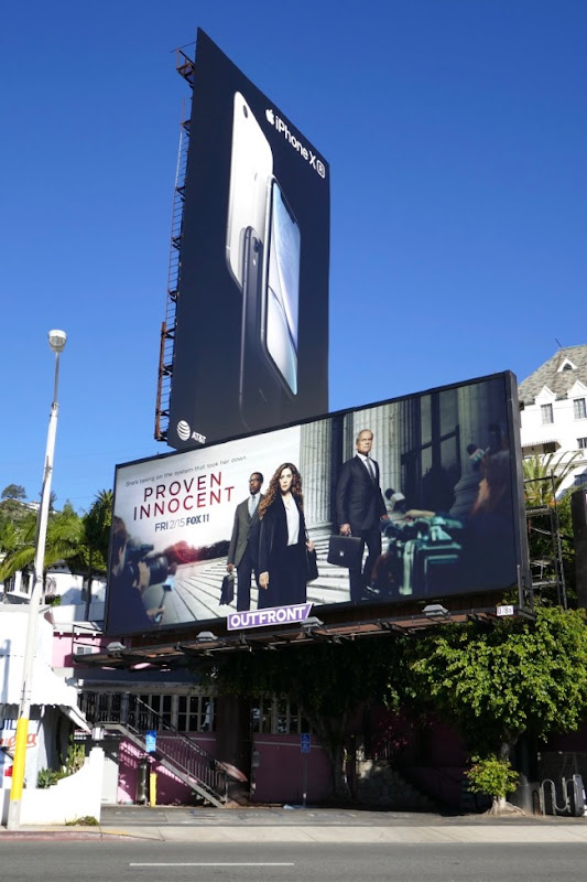 Proven Innocent series billboard