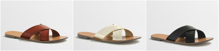J. Crew Factory Seaside Sandals $13 (reg $60)
