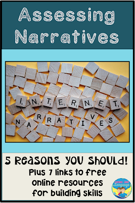 5 reasons you should be assessing the narrative skills of your students.