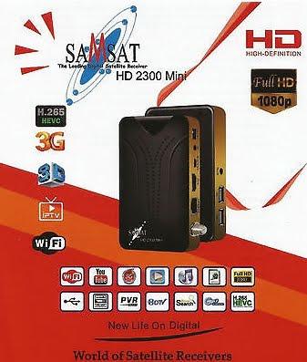 احدث اصدار لجهاز Samsat 2300 HD