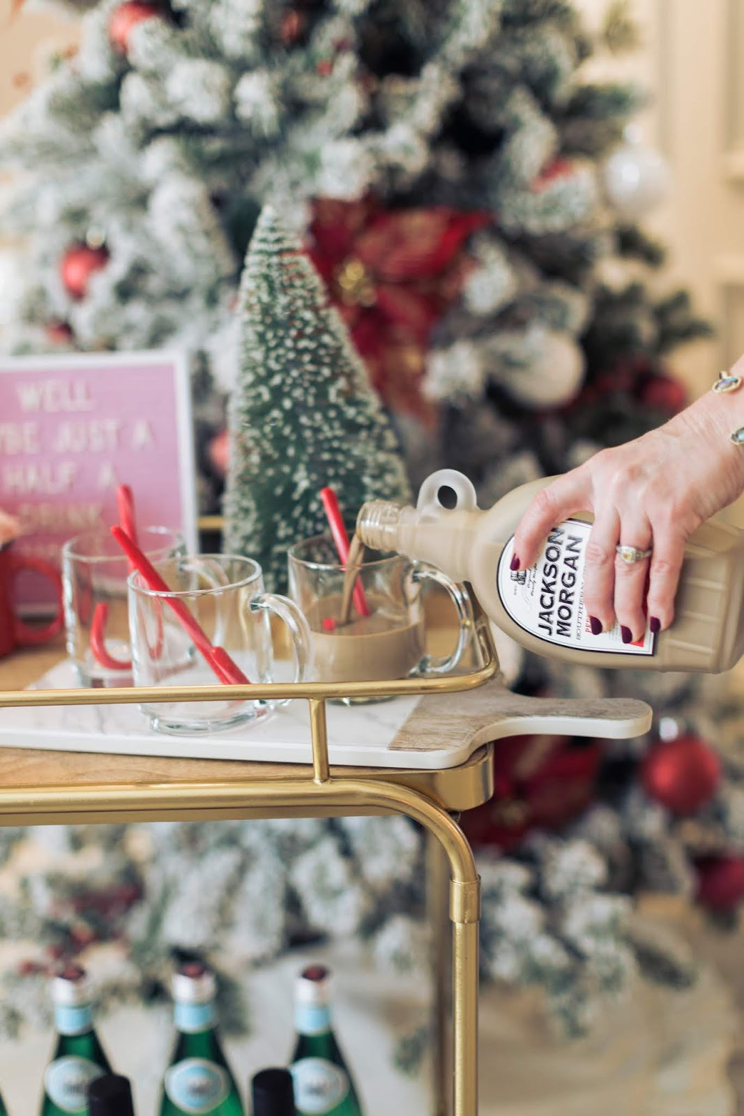 Christmas Cocktail Party Ideas by The Celebration Stylist