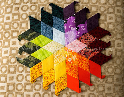 The Diamond-y EPP Blog Hop: English Paper Piecing: All Points Patchwork by Diane Gilleland