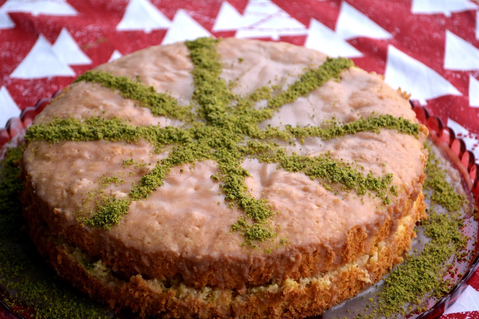 Yağsız Sünger Kek ( Yağsız Pasta Tabanı)