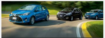 Fiesta, Peugeot 208 e Yaris