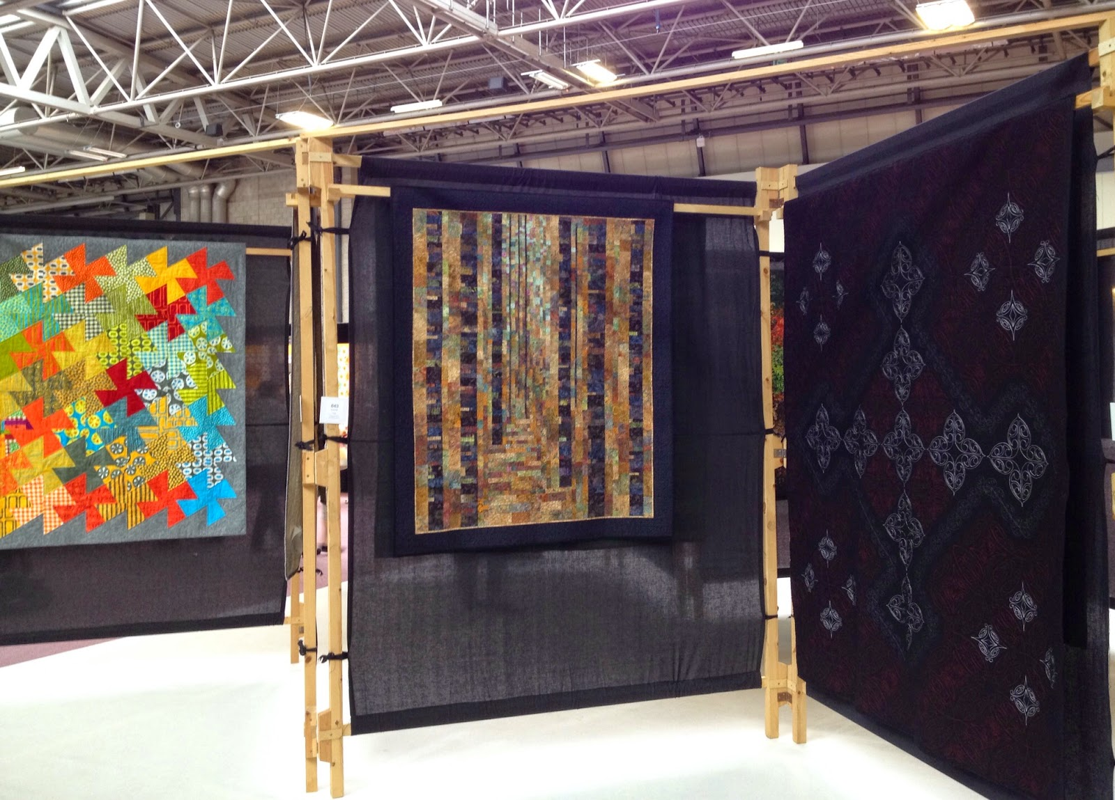 Ethelda 39 s quilting journal festival of quilts 2014 for Festival of quilts birmingham 2016