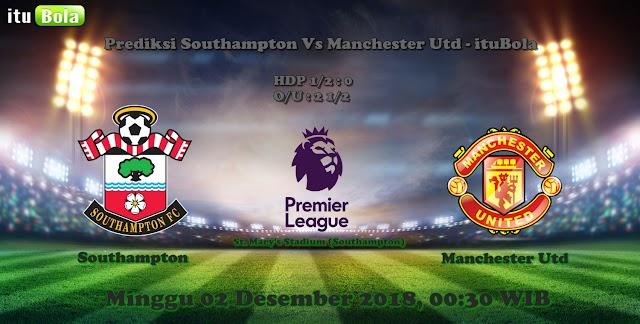 Prediksi Southampton Vs Manchester Utd - ituBola