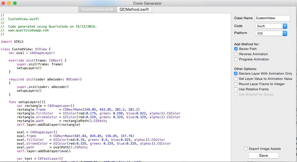 Review: QuartzCode (Mac App Store)   sketchyTech