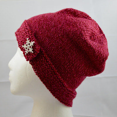 womens knit hat with snowflake rhinestone  https://www.etsy.com/listing/263194183/wool-button-brim-hat-red-hand-knit?ref=shop_home_active_9
