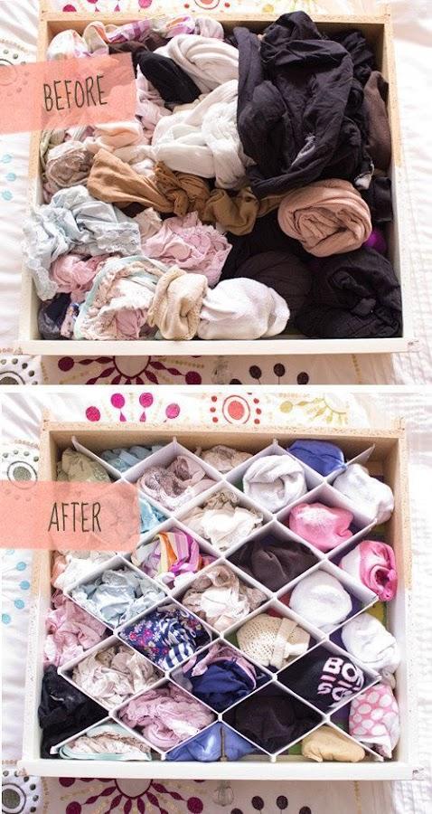 Organizar hogar