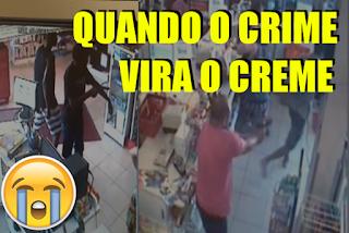 [VÍDEO] BANDIDO VALENTÃO TOMA TIRO E CHORA IGUAL CRIANÇA