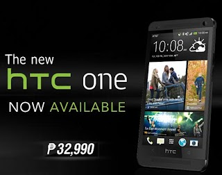 From Taiwan, HTC One now landed Lazada Philippines for the Price of 32,990 pesos