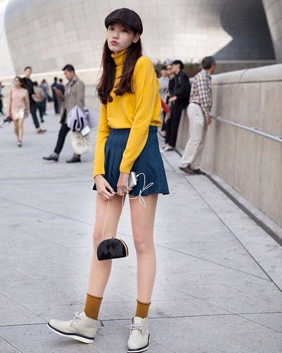 Seoul Fashion Week 2016 Street Style Miss Rich