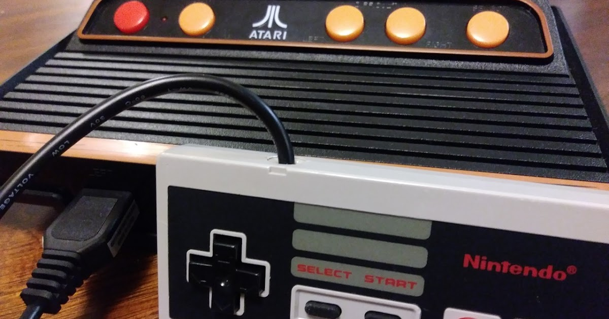 Atari Edge: Atari Mods: We Review A Modded NES Controller On