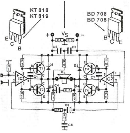 ARWIS' BLOG: Skema Audio Amplifier 200w Menggunakan Ic