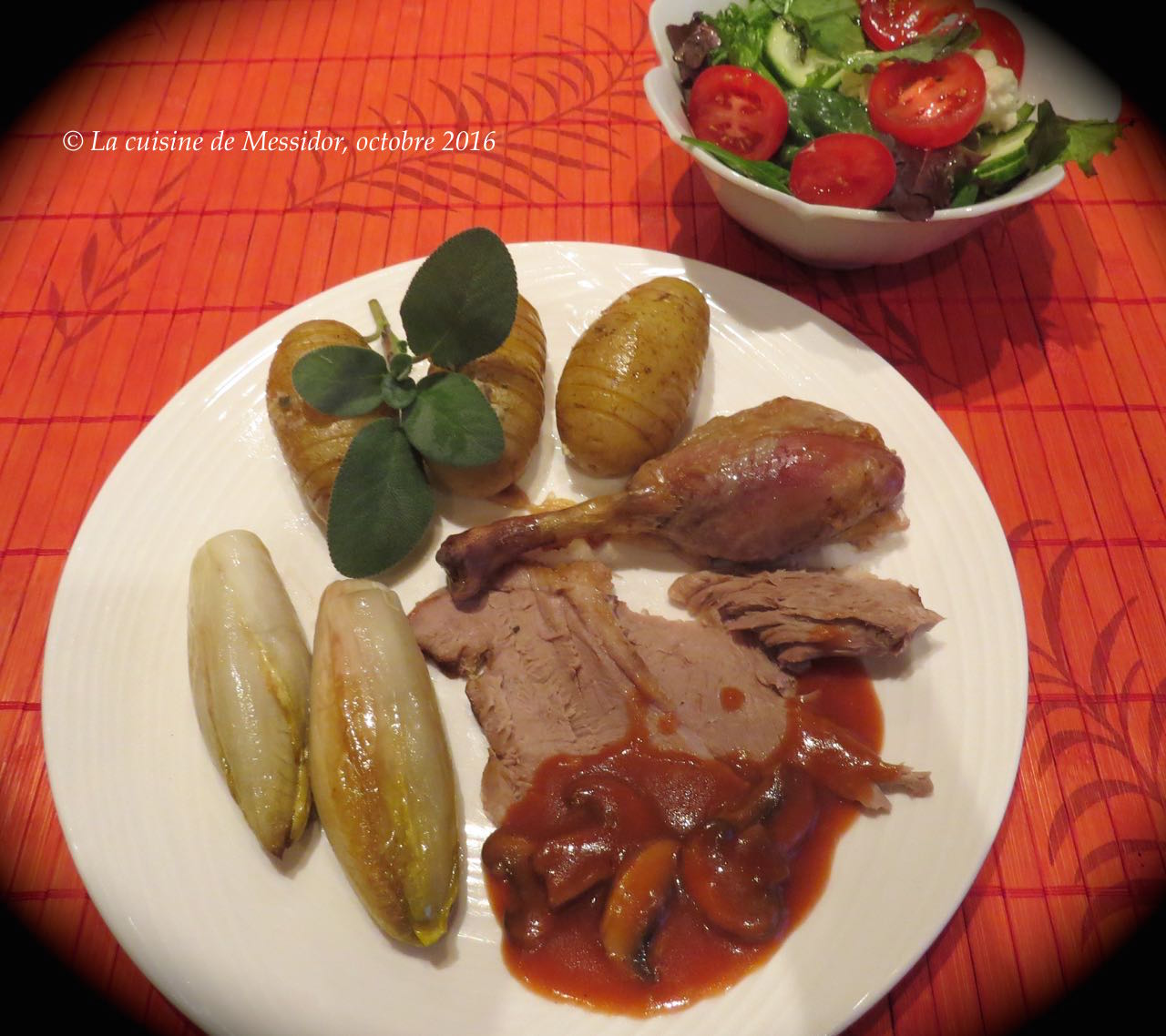 La cuisine de messidor canard entier au four cuisson - Temps de cuisson magret de canard au four ...
