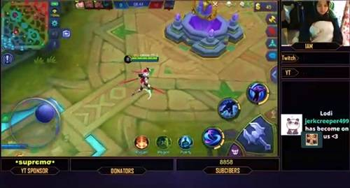 Cara Live Stream Mobile Legend di Facebook