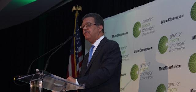 """Ex presidente Fernández  """"solo en los gobiernos del PLD""""  la RD ha presentado un amplio nivel de desarrollo y prosperidad."""