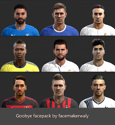 PES 2013 Goodbye facepack by facemaker waly