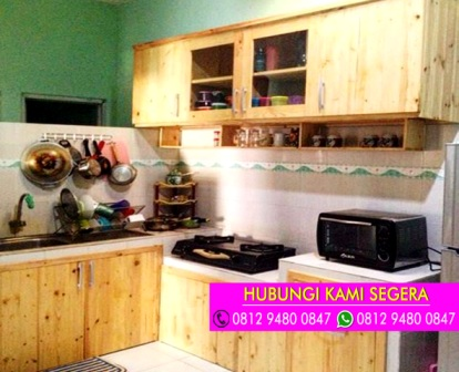 Jasa Kitchen Set Jati Belanda Bsd Serpong 0812 9480 0847 April 2017