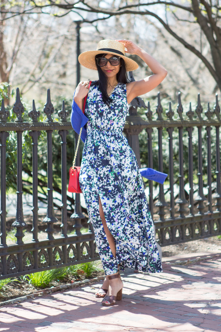 Spring Fever - Floral Maxi Dress