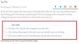 Cài đặt bài viết liên quan trong bài viết tùy chỉnh vị trí cho blogspot