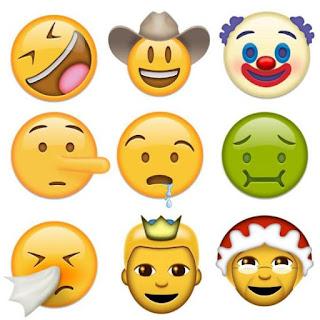 newly face emoji