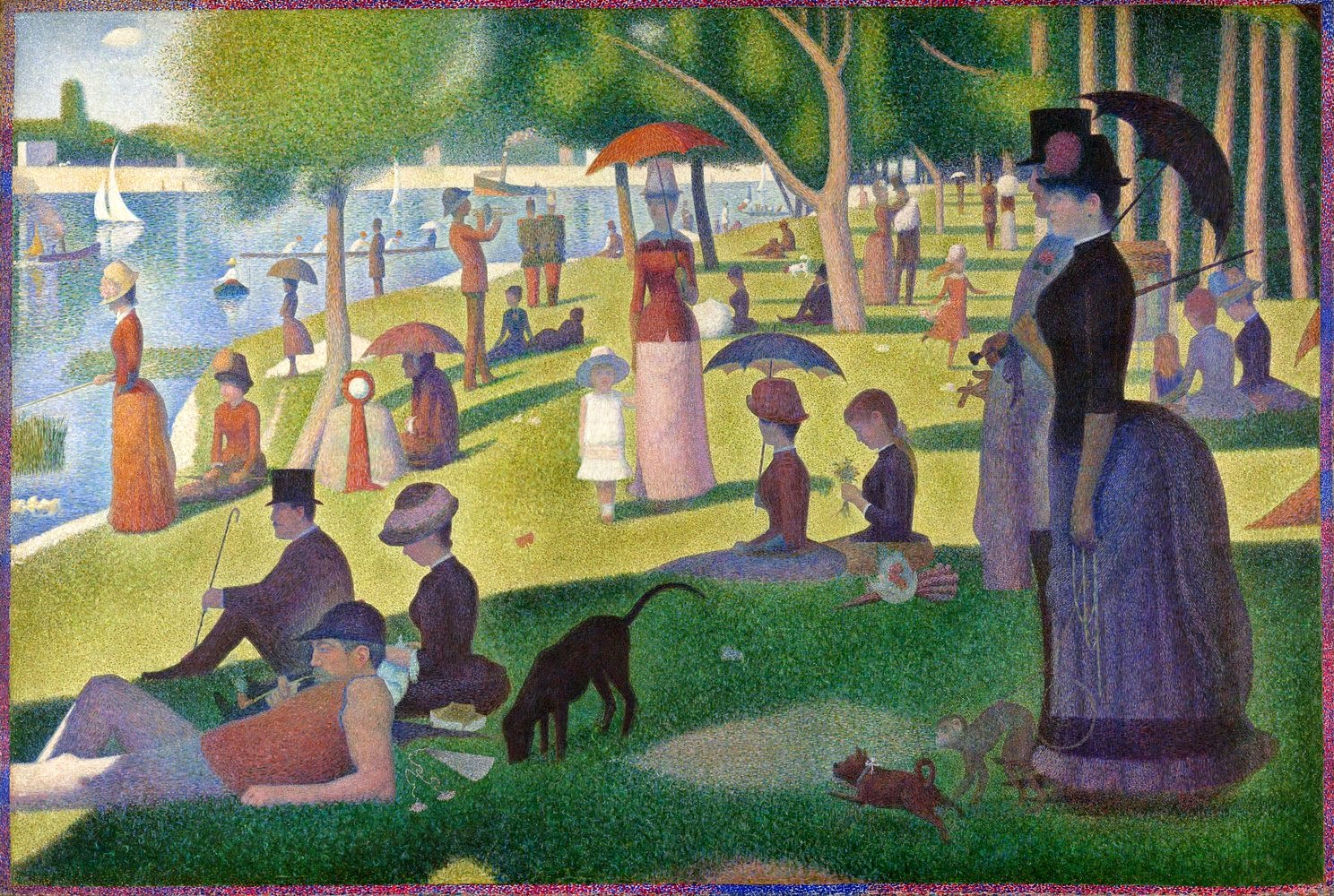 02-A-Sunday-on-La-Grande-Jatte-Original-Pierre-Adrien-Sollier-Playmobil-www-designstack-co