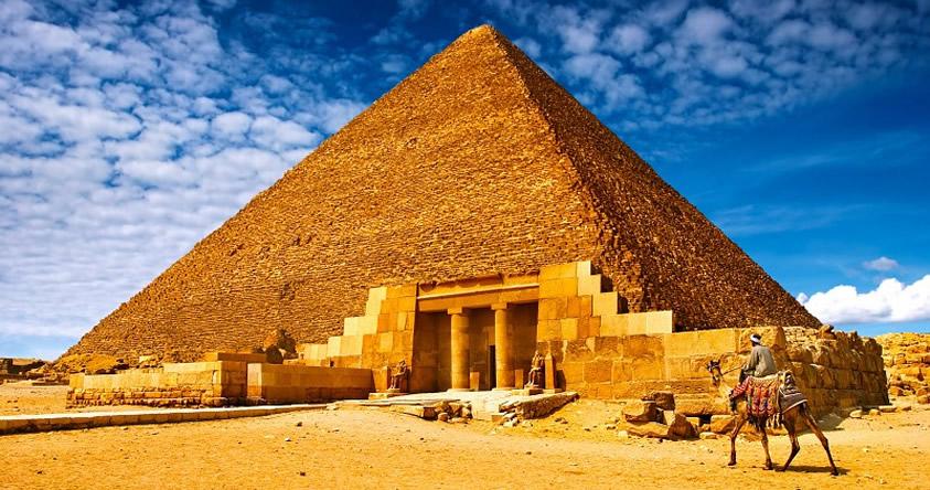Revelan que la Gran Pirámide de Giza era una «máquina primitiva» para proteger al Faraón