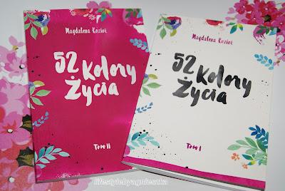 """Książkowa Sobota - """"52 kolory życia"""" tom I, II - Magdanela Kozioł"""