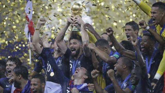 piala dunia 2018, rekor piala dunia, world cup 2018, perancis juara