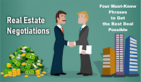 Real Estate Negotiations - Four Must-Know Phrases to Get the Best Deal Possible