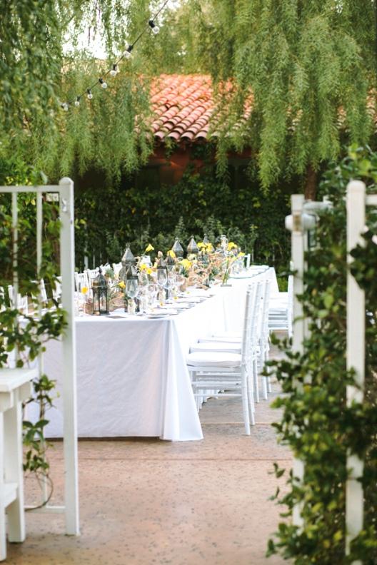 celebración de boda elegante y con buen gusto