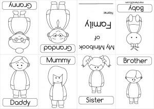 El Blog de Espe: Mini-Book of Family