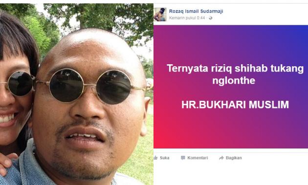 Tangkap! Akun Facebook Ini Hina Habib Rizieq dan Hadits Nabi