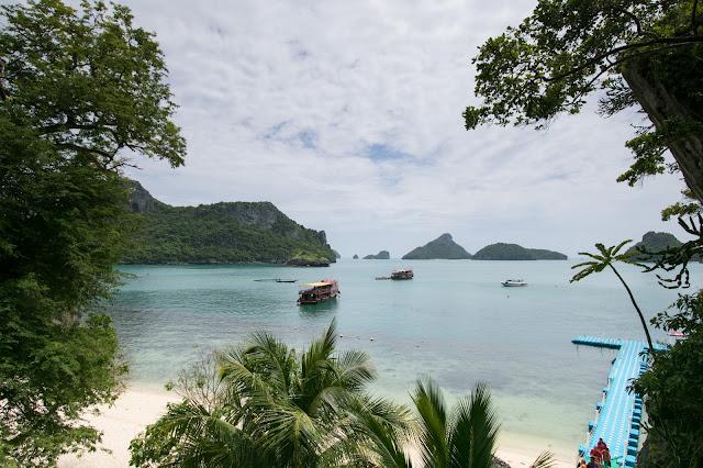 Spiaggia di Mae ko-Angthong national park