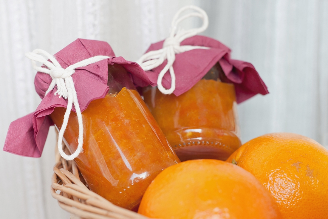 Konfitura z pomarańczy z cynamonem i goździkami (bez żelatyny)