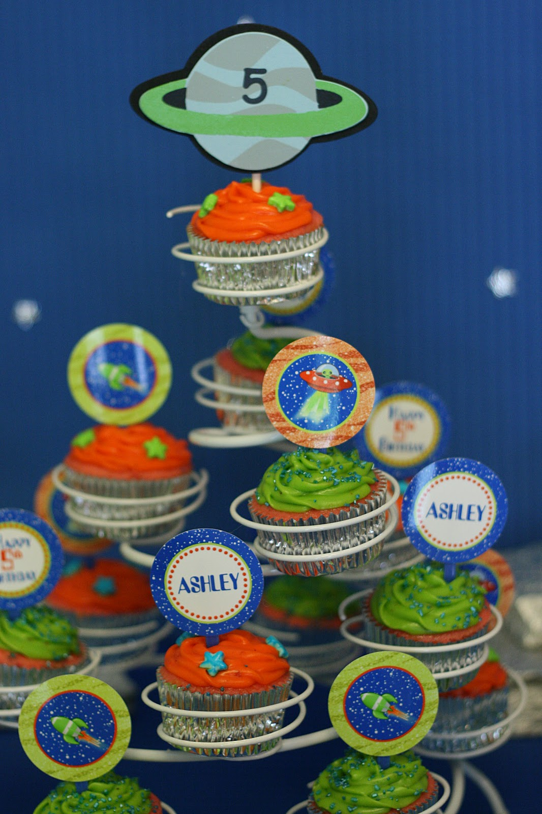 """An """"Out of this World"""" 5th Birthday Party!   Celebrating ..."""