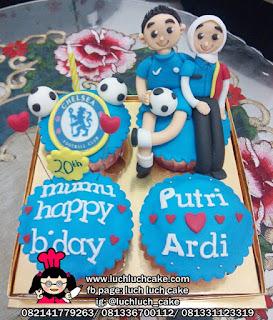 Cupcake Ulang Tahun Chelsea