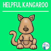 The Reading Roundup - Decoding Secret - Beanie Baby Reading Strategies - Helpful Kangaroo