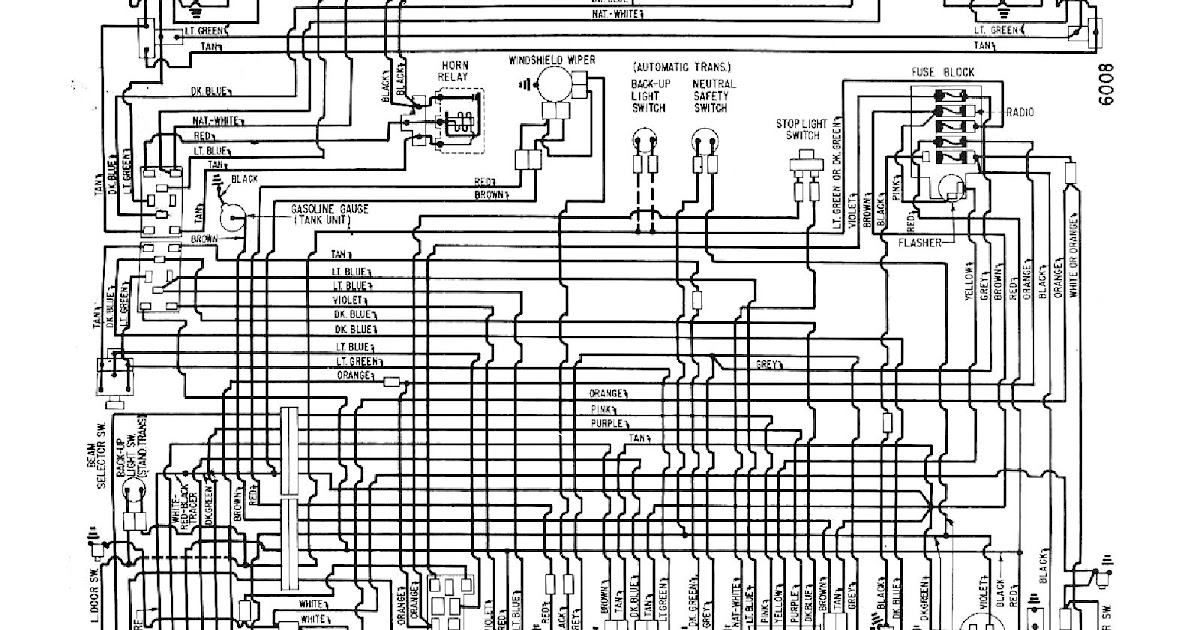 Free Auto Wiring Diagram: 1960 Chevrolet Corvair Wiring