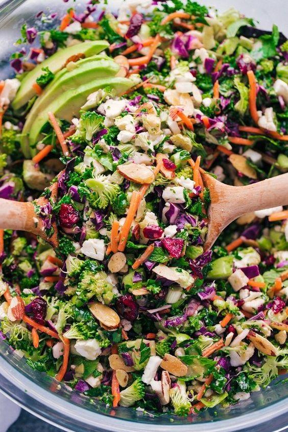 Detox Kale Salad