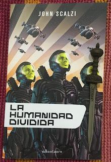 Portada del libro La humanidad dividida, de John Scalzi