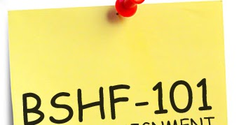 Bshf 101 completed