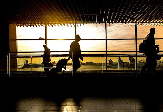 emozione in aeroporto