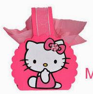 Bolsito de Papel de Hello Kitty para Imprimir Gratis.