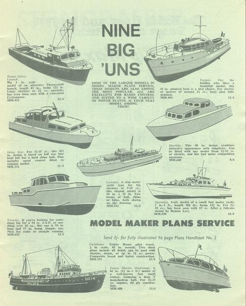 Phil's Workbench: Beatties Model Boat Catalogue 1967
