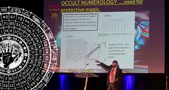 Fritz Springmeier explica la numerología ocultista de los illuminati en los premios de la paz en Praga
