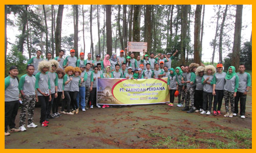 Outbound di Cikole bersama Mawa Holiday