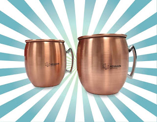Win Copper Mug